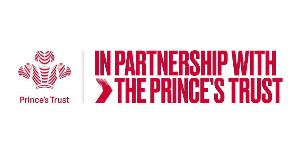 In partnership with the Princes Trust