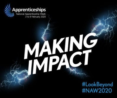 The National Apprenticeship Week 2020 logo